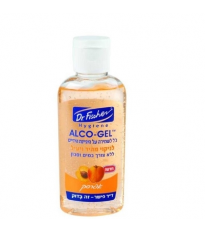 Дезинфицирующий гель с ароматизатором, Dr. Fischer Alco Gel Fragrances 60 ml